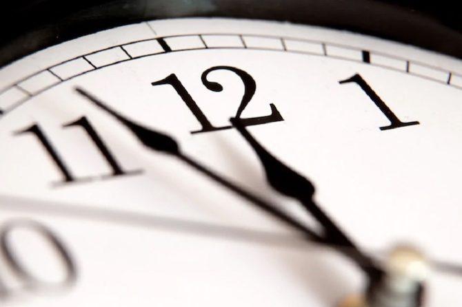 Nous reprendrons l'horaire régulier à partir du lundi 24 août